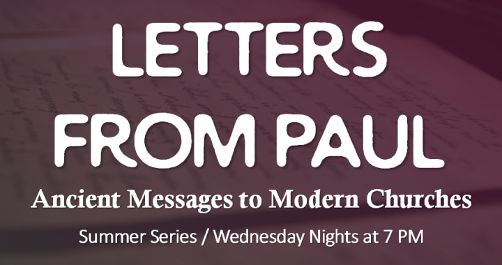 Letters From Paul: To the Corinthians Again