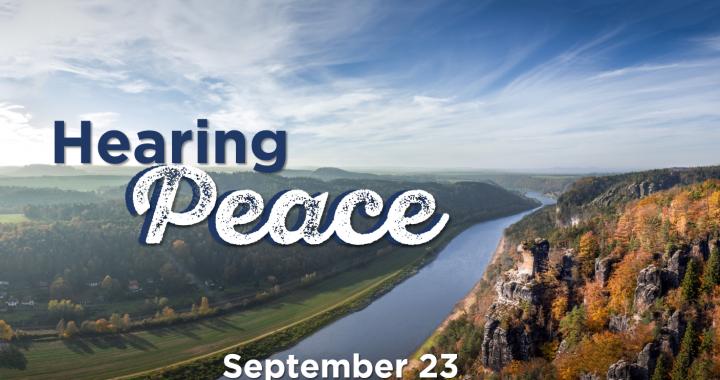 Hearing Peace